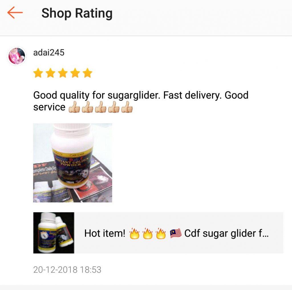 """""""Makanan sugar glider"""""""